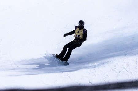 Vail, Co. - February 28, 2013 - Burton US Open Snowboarding Championship Half Pipe Shaun White