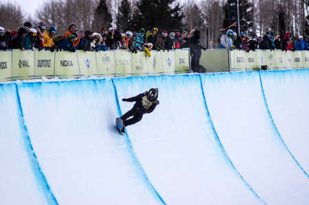 kyle: Vail, Co. - February 28, 2013 - Burton US Open Snowboarding Championship Half Pipe Kyle Mack