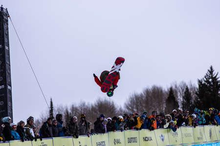 anon: Vail, Co. - February 28, 2013 - Burton US Open Snowboarding Championship Half Pipe Peetu Piiroinen