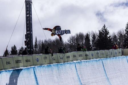 Burton US Open Snowboarding Championship Jan Sherrer