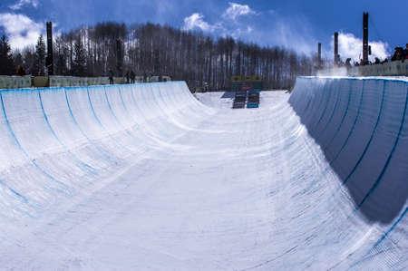 Burton US Open Snowboarding Championship Half Pipe Editorial