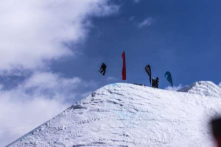 Burton US Open Snowboarding Championship Slopestyle Snowboarder Redakční