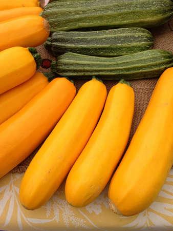 Squash  zucchini from farmers market
