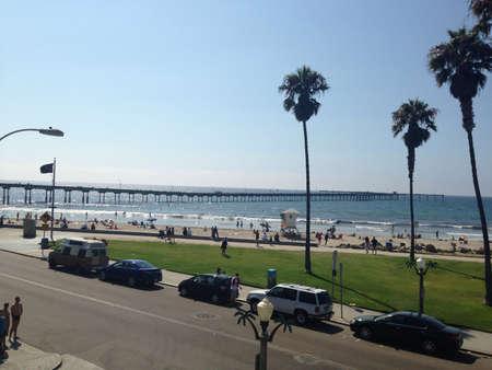 Ocean Beach Pier San Diego  Imagens