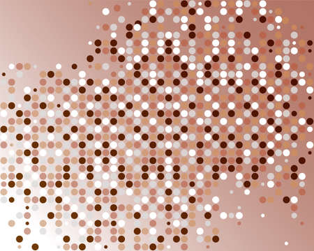 tapet: Abstract background in the style of a mosaic of circles Illustration