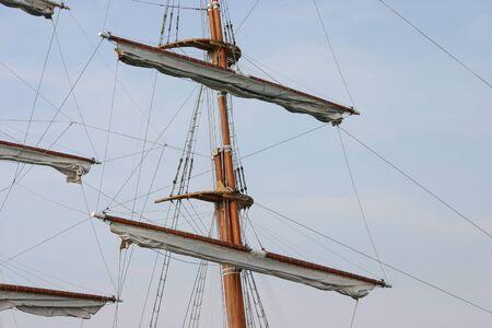 nautic: Sailing ship mast