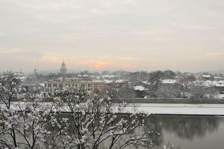 wawel: City panorama from Wawel Hill