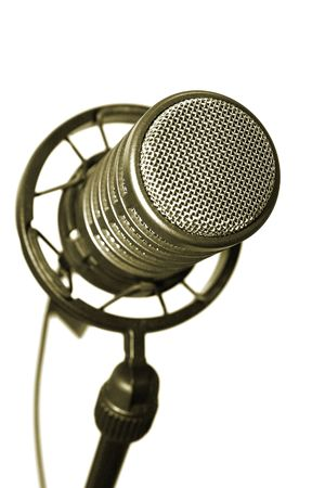 Microphone on stand in a studio Stock Photo - 2348775