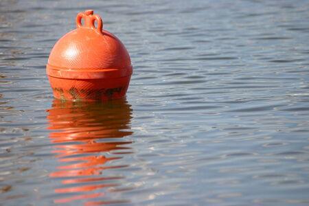 buoy: Buoy on the water Stock Photo