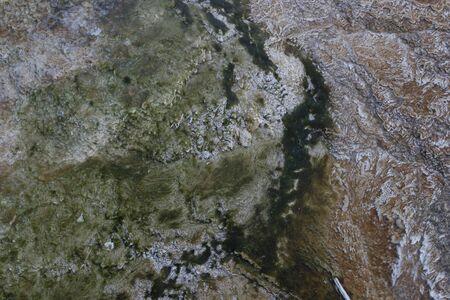 topography: Las im�genes de sat�lite de la topograf�a Foto de archivo