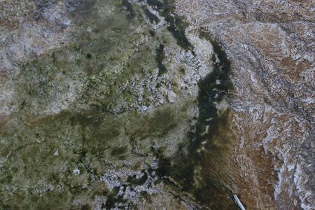 Satellite imagery of topography