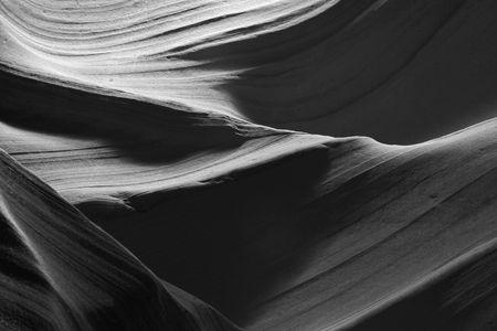 slot canyon: slot canyon abstract pattern Stock Photo