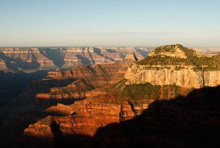 grand canyon north rim at dawn  photo