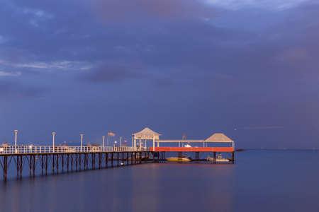 The Gulf of Sanya Stock Photo