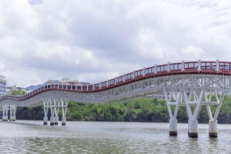 Hexi bridge in Sanya Bay