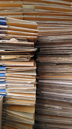 division: The paper Division prepared for delivery to Sell.Vertical Picture. Stock Photo