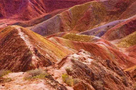 nature scenery: Nature scenery view of Zhangye