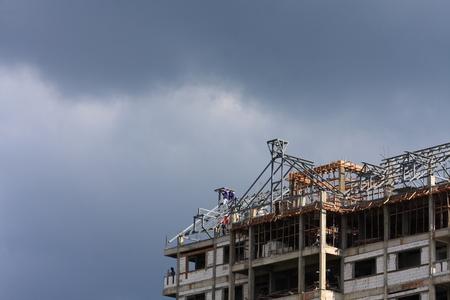 Building construction photo
