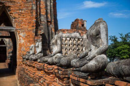 Wat Chaiwatthanaram, The Buddhist temple in the city of Ayutthaya Historical Park, Thailand.