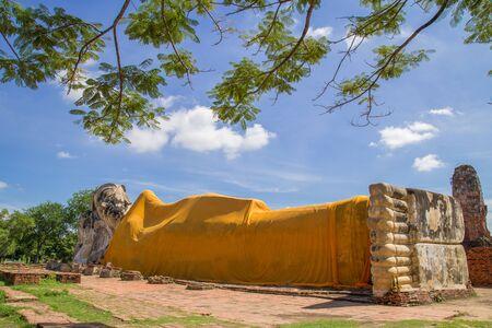Wat Lokkayasutharam, Ayutthaya, Thailand