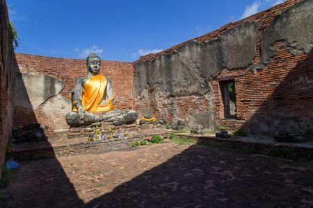 Wat Worachettharam, Ayutthaya, Thailand
