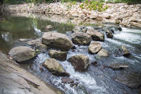 Small Water Fall Stock Photo