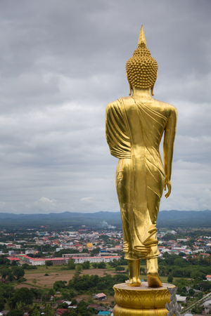 Phra That Khao Noi Temple : Nan, Thailand Stock Photo