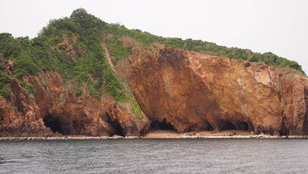 caved: Caved island