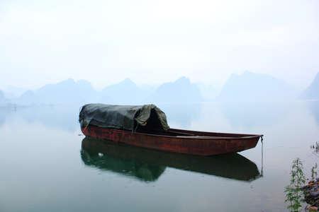 boat at Reservoir