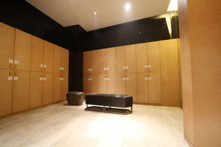 Hotels locker room, indoor photos