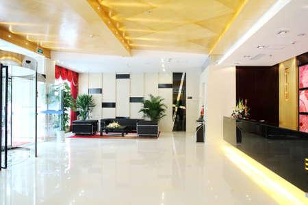Modernization of the office lobby, reception area Stock Photo - 10265463