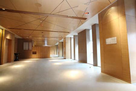 perspectiva lineal: El lobby del hotel, habitaciones