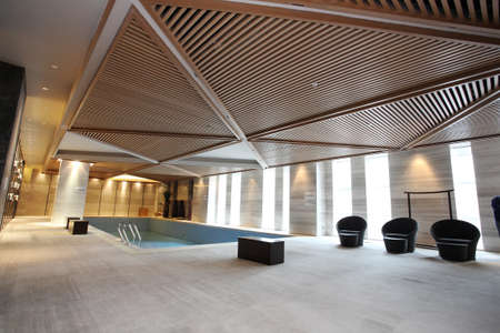Swimming club photos, hotel leisure area