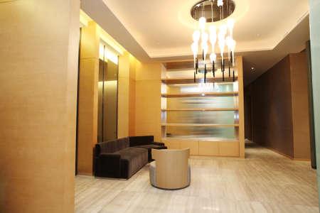 perspectiva lineal: Salón del Hotel, fotos interiores