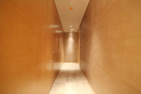 room access: Simple modern interior pictures, hotel room access Stock Photo