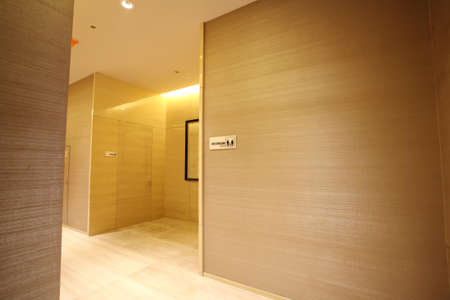 Hotel bathroom, beautiful interior photo, interior decoration photo