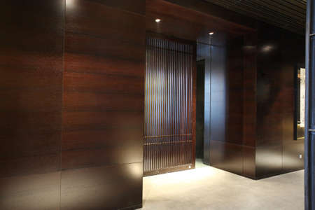 Japanese restaurant entrance photo, indoor Stock Photo - 10273688
