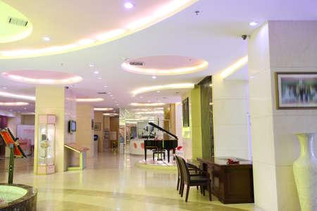 Indoor public hall,modern style