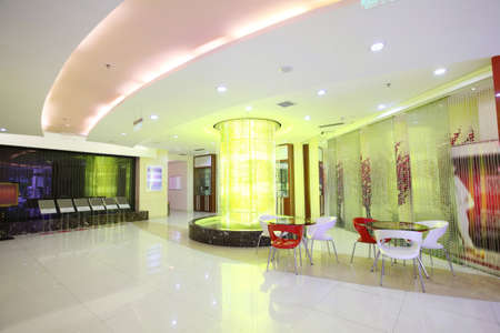Indoor environment,spacious indoor hall