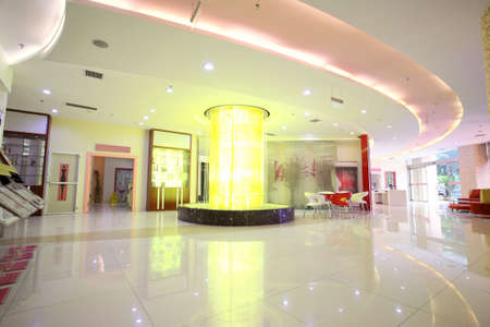 Public environment,bright and spacious lobby