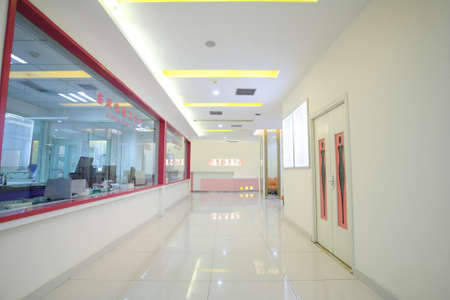 Within the hospital environment,laboratory Stock Photo