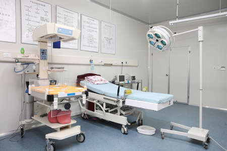 Within the hospital environment,the operating room and medical equipment Stock Photo - 10282555