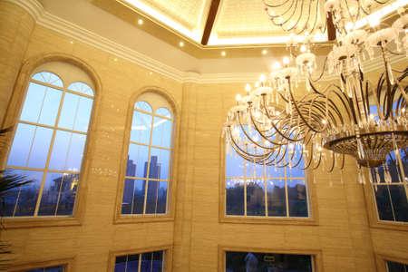 evening light, spacious indoor hall Stock Photo - 10306088