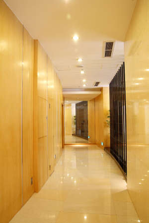 specular: Modern yellow corridors and specular