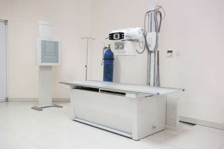 The hospital room, radiology of the equipment