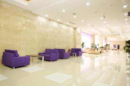 Modernizzazione della lobby ufficio, reception Archivio Fotografico