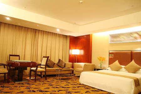 Warm hotel rooms, Hotel Stock Photo - 10306087