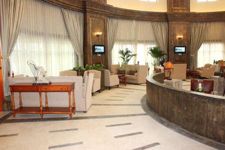 Club-house environment, senior leisure club photo, interior decoration photo
