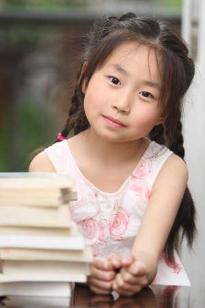 reading of the child, focused homework, asian children