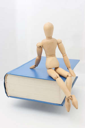 puppetry: Sit books on puppetry photos Stock Photo